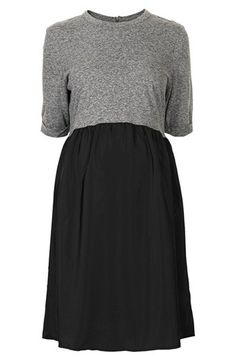 Topshop Jersey Maternity Dress available at #Nordstrom