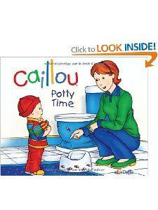 Caillou: Potty Time (Hand-in-Hand series): Joceline Sanschagrin, Pierre Brignaud: 9782894507490: Amazon.com: Books