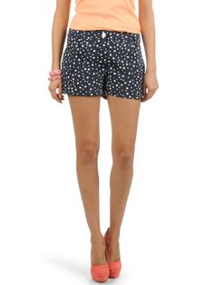 Only Carni Aop Shorts mood indigo/w. cloud dancer preiswert kaufen