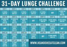 Easy Lunge Challenge for Beginners & Experts - New Ideas 12 Week Workout, Post Workout Food, Workout Ideas, Walking Challenge, 30 Day Challenge, August Workout Challenge, Challenge Accepted, Lunge Challenge, Weekly Workout Plans