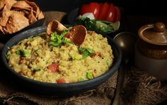 A healthy breakfast for an energetic day here's Broken Wheat And Green Moong Khichdi Recipe with goodness of moong dal and nutritious vegetables  dalia.The Broken Wheat And Green Moong Khichdi is delicious on its own.- Recipe by Madhuli.  -->http://ift.tt/1Tuv6NS #Vegetarian #Recipes