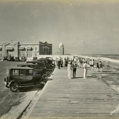 Casino and bath house, Indialantic By-The-Sea, Melbourne, Florida. 1925.