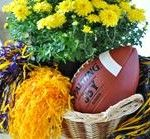 Football Centerpiece and Tailgating Recipes Tailgate Games, Football Tailgate, Tailgating Recipes, Tailgate Food, Football Season, Fa Football, Tailgate Tent, Baseball, Healthy Cook Books