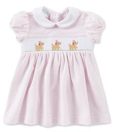 e45ea20dee62 Shop for Edgehill Collection Baby Girl 3-24 Months Puppy Smocking Dress at  Dillards.