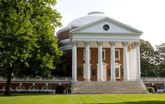 Architectural Digest ranks UVA as the college with the best architecture.
