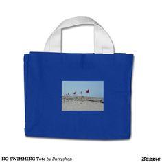 NO SWIMMING Tote Mini Tote Bag