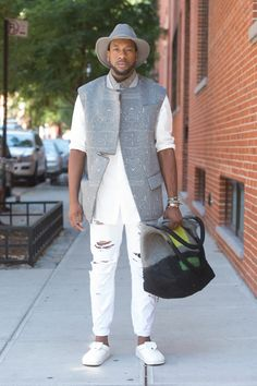 New York Fashion Week SS15 Street Style