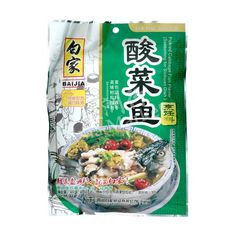 Baijia Pickled Cabbage Fish Flavor 300g