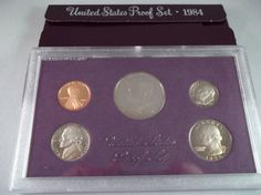 1984S Boxed United States San Francisco Mint by WhitecloudAntique