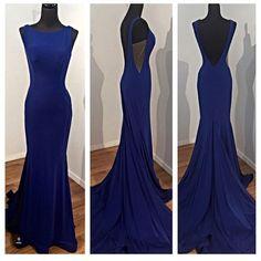 Charming Prom Dress,Backless Prom Dress,Mermaid Prom Dress,Long Prom