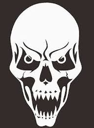 Image result for skull stencils