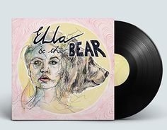"Check out new work on my @Behance portfolio: ""Ella & the bear - Vinyl cover"" http://be.net/gallery/51753627/Ella-the-bear-Vinyl-cover"