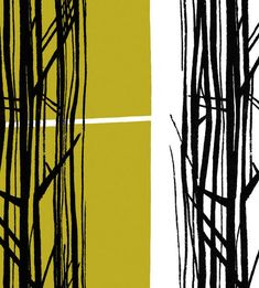 Sequoia - Lucienne Day @ Classic Textiles