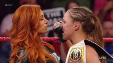 """Becky Lynch: Ronda Rousey rival reveals why WWE fans """"give a s**t"""" about WrestleMania bout - sports popular NEWS Ronda Rousey Wwe, Ronda Jean Rousey, Ronda Rosey, Wwe Raw Women, Wwe Survivor Series, Wrestlemania 35, Rowdy Ronda, Rebecca Quin, Stephanie Mcmahon"""