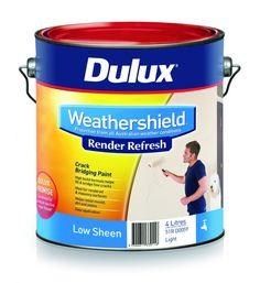 Paint & DIY render repair innovation breakthrough – Innovative Dulux Render Refresh fills the cracks in an age-old problem #dulux #renderrefresh #DIY
