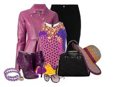 """Purple Dreams"" by ljbminime ❤ liked on Polyvore featuring STELLA McCARTNEY, Dsquared2, Peter Pilotto, Furla, Bling Jewelry, Vivienne Westwood, Chloé, prAna, women's clothing and women"