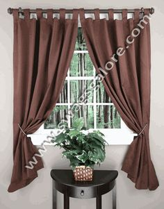 Sophia curtains are a room darkening thermal insulated tab top panel. Sophia has foam thermal backing, the thermal insulation saves energy and reduces heating cost. Thermal Curtains, Curtain Warehouse, Tab Top Curtains, Home Decor, Modern Curtains, Curtains, Paneling, Drapes, Window Cornices