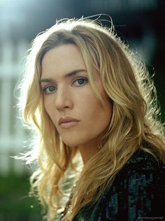 Kate Winslet.  #Imagine I've never dream to get a kiss from Blondy girl like this in early morning.  We using Aston Martin or Mustang!