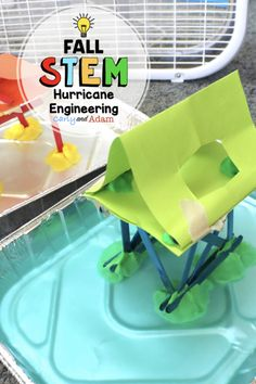Hurricane STEM Activities and Challenges for Kids by Carly and Adam - - Weather Activities, Stem Activities, Hurricane Safety, Kids Book Club, Next Generation Science Standards, Stem Learning, Coding For Kids, Stem Challenges, Stem Projects