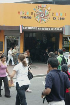 The historic Mercado Central is on the pedestrian-only Avenida Central in the heart of San Jose.