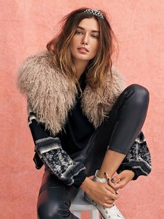 Sugar Mama Faux Fur Collar at Free People Clothing Boutique