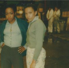 Photo of Tichina Arnold and Tisha Campbell on the set of Little Shop of Horrors 1986 Black Actresses, Black Actors, Tichina Arnold, New Jack Swing, Vintage Black Glamour, Little Shop Of Horrors, Famous Black, Iconic Photos, Black Artists