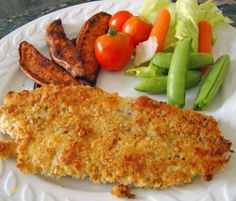 Oven Baked Fish and Chips recipe