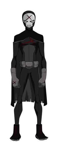 Red X from Teen Titans ( Young Justice style)