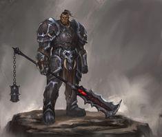 Image Painting, Elder Scrolls, Fantasy Art, Knight, Batman, Superhero, Fictional Characters, Google, Style