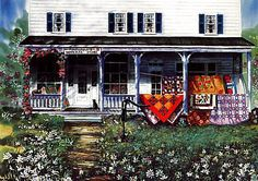 Diane Phalen Art Gallery ~ Country Quilts