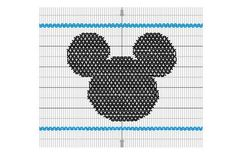 Mouse Smocking Plate PDF by ThePolkaDotPup