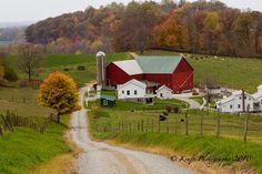 Amish farm homestead