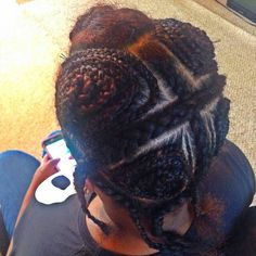Vixen Braid pattern for sew in..#protectivehairstyle