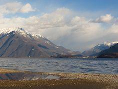 Upper Lake Como, Northern Italy