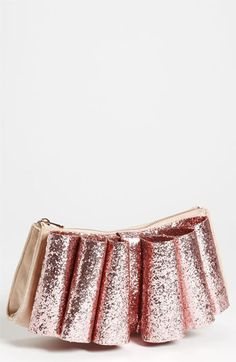 Ted Baker London 'Langley Glitter Bow' Clutch | Nordstrom