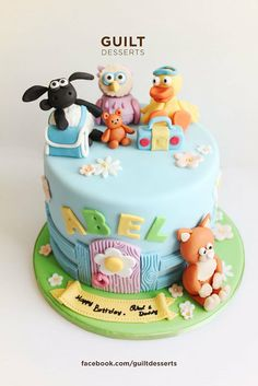 Timmy Time! - by guiltdesserts @ CakesDecor.com - cake decorating website