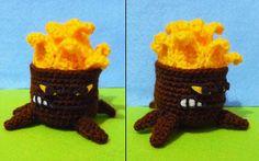 Crochet Torchwood amigurumi Plants vs zombies, $17.90
