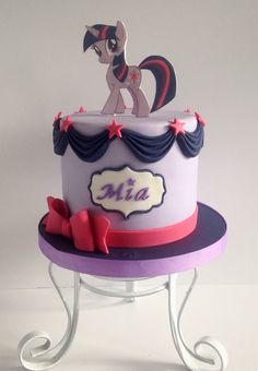 Twilight sparkles cake