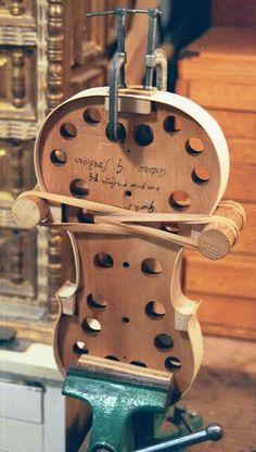 Make My Own Violin - http://www.bartruff.com/howto/