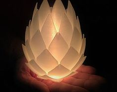 printable model Pine Cone Lampshade light lamp lampshade, available formats STL, ready for animation and other projects Tea Light Candles, Tea Lights, 3d Printable Models, Tealight Candle Holders, Pine Cones, Scented Candles, Lamp Light, 3d Printer, Printing