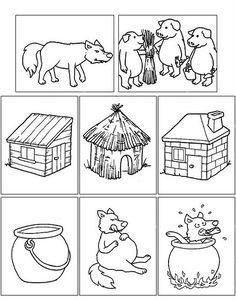 Fairy Tale Activities, Farm Activities, Craft Activities For Kids, Infant Activities, Preschool Projects, Free Preschool, Construction Theme Preschool, Luau Party Decorations, Pig Crafts