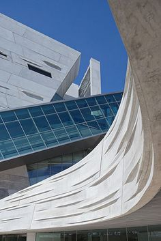 Perot Museum of Nature and Science, Dallas, Texas by by Morphosis Architects
