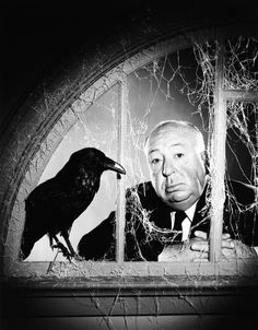 Alfred Hitchcock in a promotional portrait for the television show, 'The Alfred Hitchcock Hour', 1965