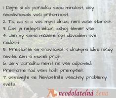7 rad pro spokojený život #life #neodolatelnazena #laska #czechrepublic #dating #datingtips
