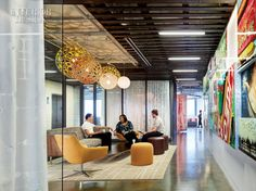 the advisory board company a health care and education consultancy in austin was recently featured in the pages of interior design magazine baya park company office design