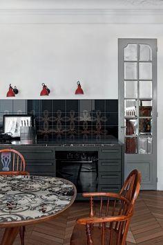 Rivestimento in ceramica bicottura per interni ARIANNA PLATINO Collezione Arianna by CERAMICA BARDELLI | design Robert Dawson