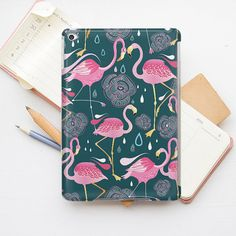 Flamingo iPad Mini Case Animal iPad Mini 4 Case by PinkPiggyStudio