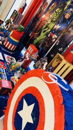 Advengers Birthday Party Ideas | Photo 5 of 7 | Catch My Party