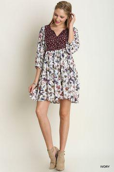 Past Love Dress - Ivory