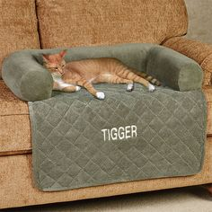 The Ultimate Microplush Pet Cover with Bolster allows you and your pet to share your sitting spot. Accent has a diamond-quilted, lined, waterproof seat. Pet Beds, Dog Bed, Animals And Pets, Funny Animals, Cat Room, Pet Furniture, Cat Accessories, Diy Stuffed Animals, Pet Shop